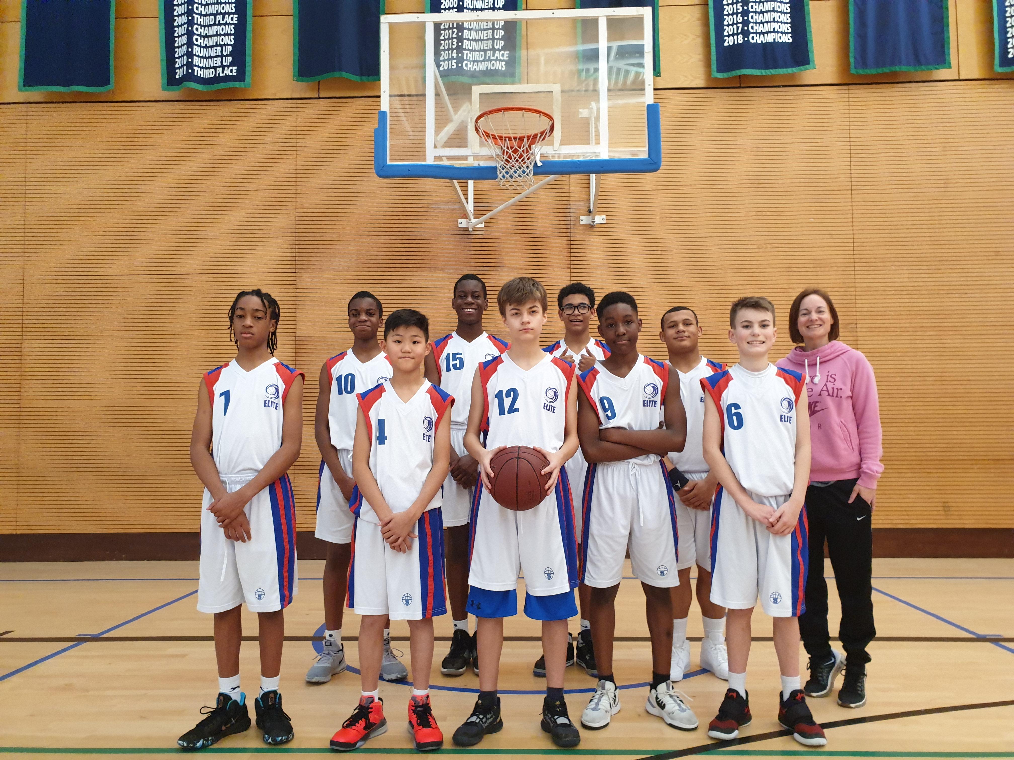 U14s - CVL - Croydon Elite Basketball